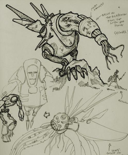 Clank Sketch