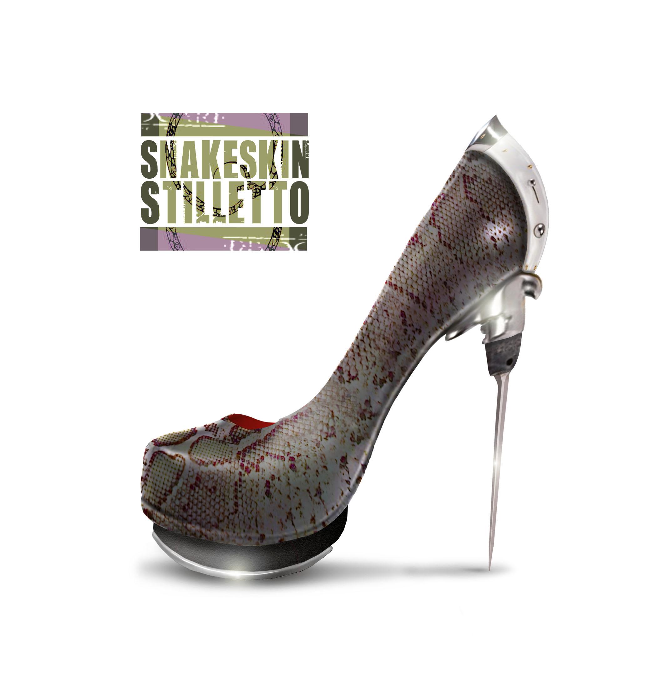 Snakeskin Stilletto – One-off shoe design… for CD Cover ...
