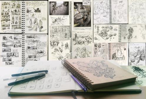 0 Sketchbook Gareth Sleightholme hesir