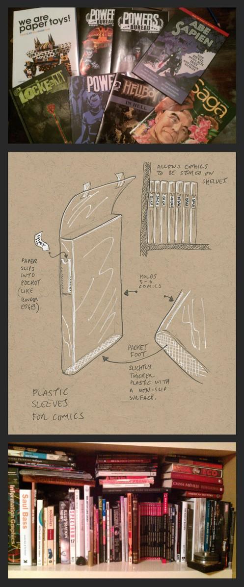 0 0 Comics Bags Idea