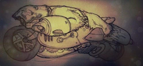 0 0 Polar Bear on Bike