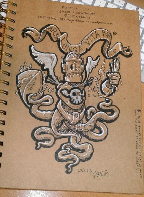 0 0 Sketchbook Cover
