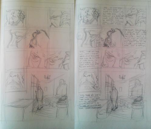0 Comic Pages - Pencils
