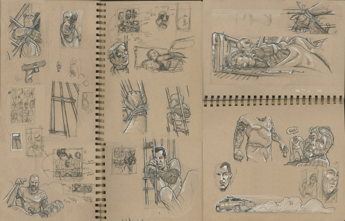 Sketches - Pages 1 & 2