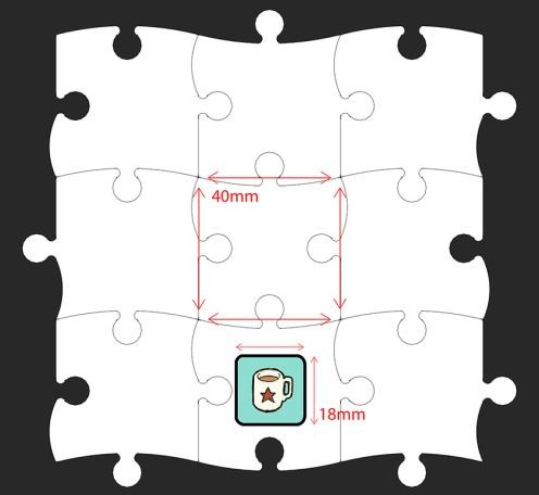 0 Jigsaw Extendable Game - Final Dims