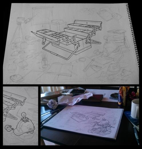 Adding more inks