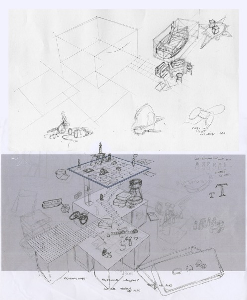 Mock ups and Sketches