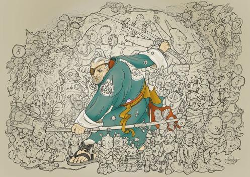 The Robo-Hunters - Central Colours xx