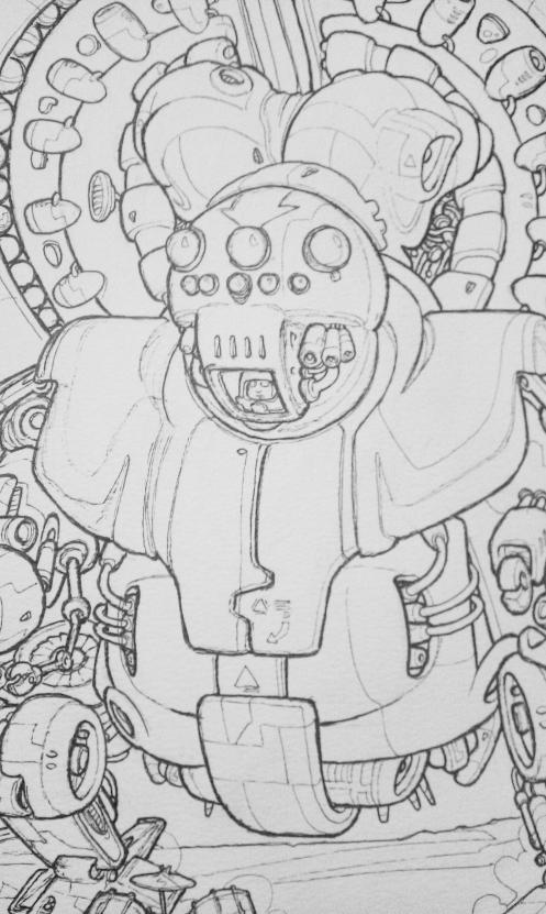 x Robot Detail
