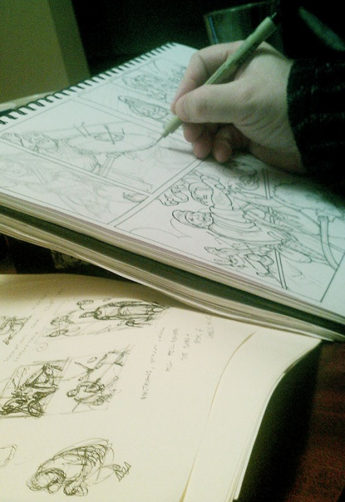 Drawing Comics
