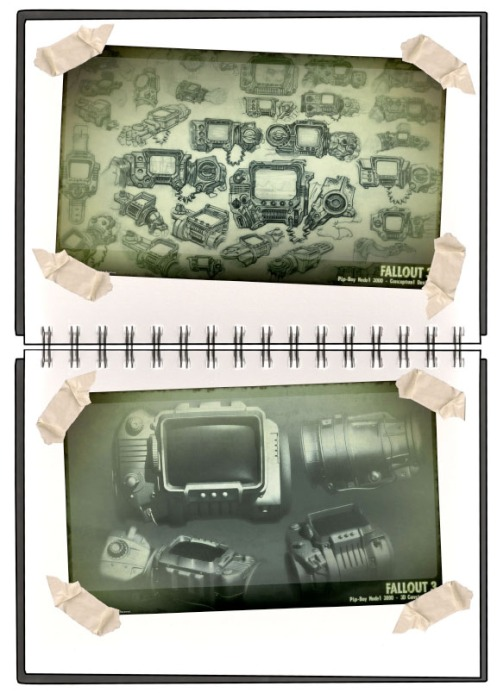 --- a a Fallout 3 product design