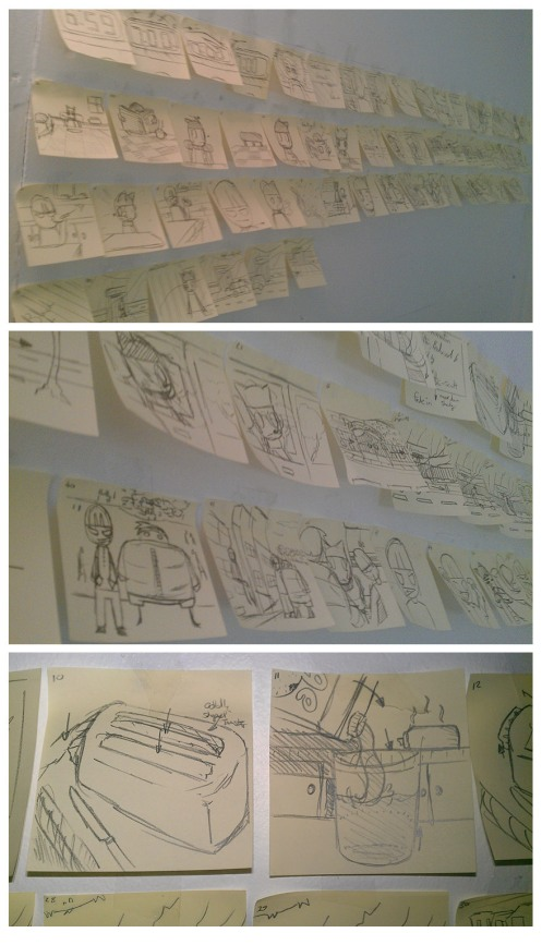 --- Own Storyboards