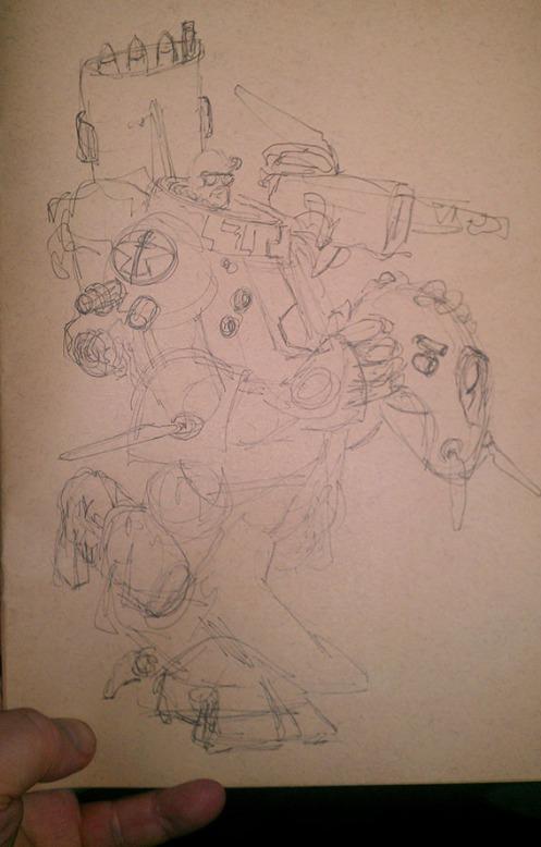 Big Robot Sketch