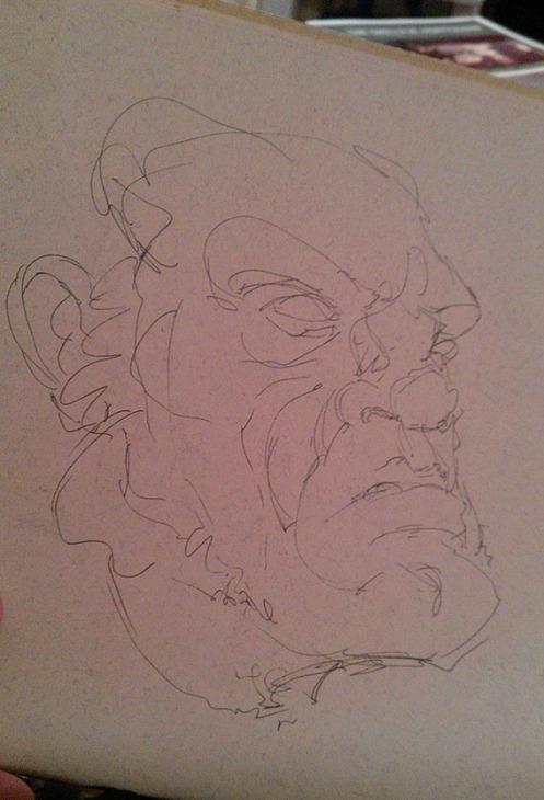Wolvie Sketch...
