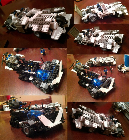 x Lego vehicles