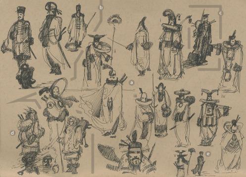 x Tibetan Monks