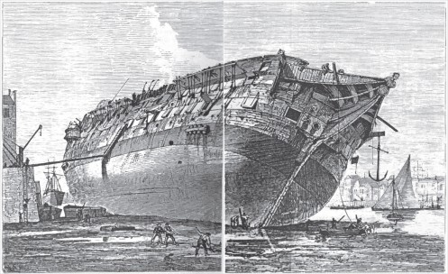 Shipbreaking in London