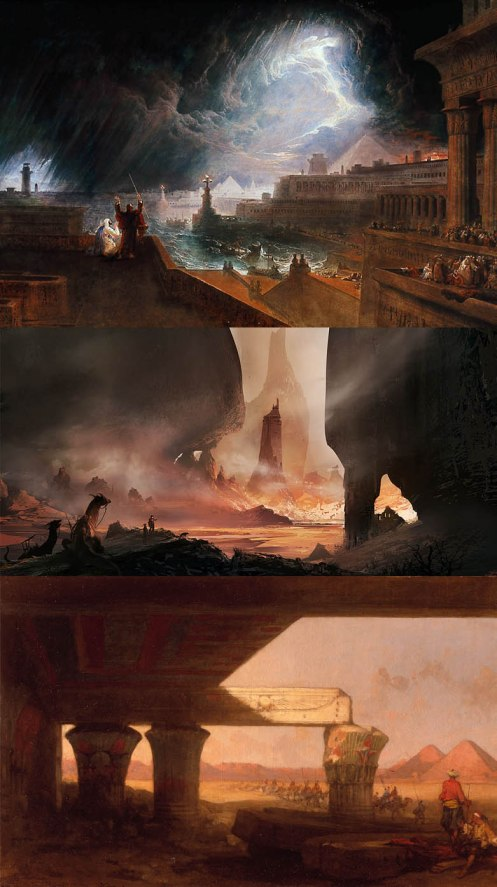 Concept Art and Old Paintings