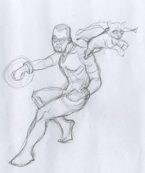 Hero Sketch 003
