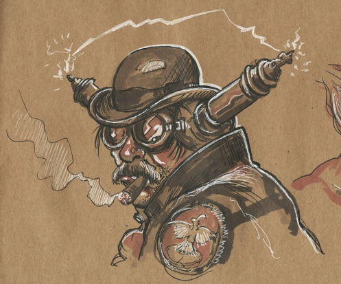 xx Billy-Bob Steam Punk
