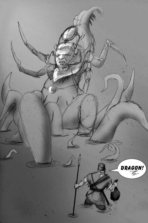 Ladon - Dragon - St George