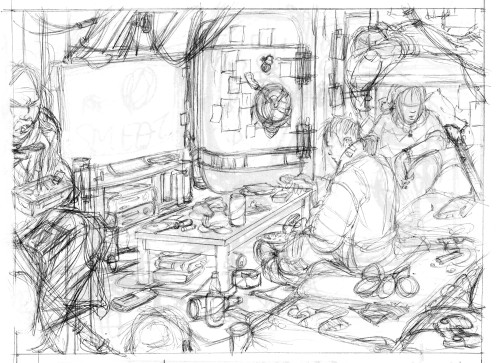 Pencils for Maddox's Room