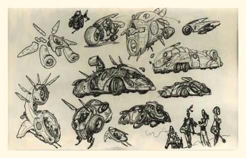 x Rabbits Vehicles