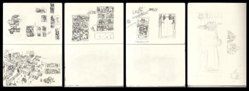 Scans as taken from Sketchbooks