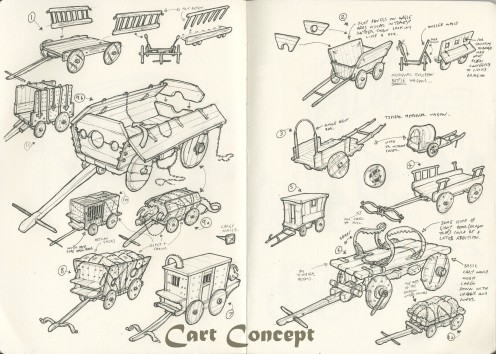 cart-001-early-concepts