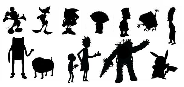 Character Design Silhouette Tutorial : Apophenia inc art design books music ephemera